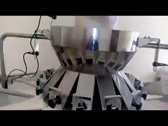 Automatisk multifunktionsveje, der anvendes til lodret formfyldningspakningslinje