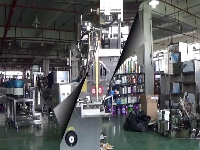 Automatisk vertikale pose ris bønner bolden emballage maskine