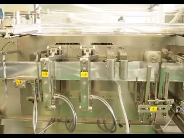 Høj hastighed flad poset emballage flydende emballage maskine