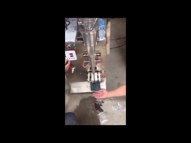 Høj hastighed ren vandtomat ketchup indsæt små posen påfyldning pakning maskine