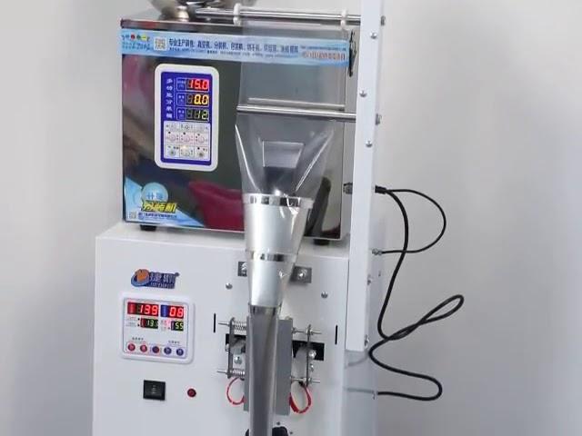 Hot sale is candy emballage vertikale form lille plastikpose påfyldning og forsegling maskine