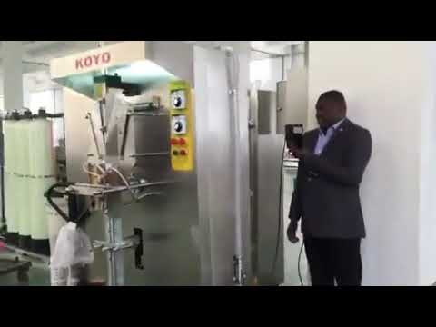 Automatisk Lodret Small Scale Plastic Pose Taske Liquid Sachet Packaging Machine