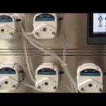 Mini automatisk plast ampul formning påfyldning tætningsmaskine oral og sirup flydende fyldemaskine