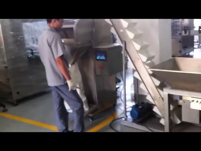 Semi Automatisk Sachet Ris Small Granule Packing Machine