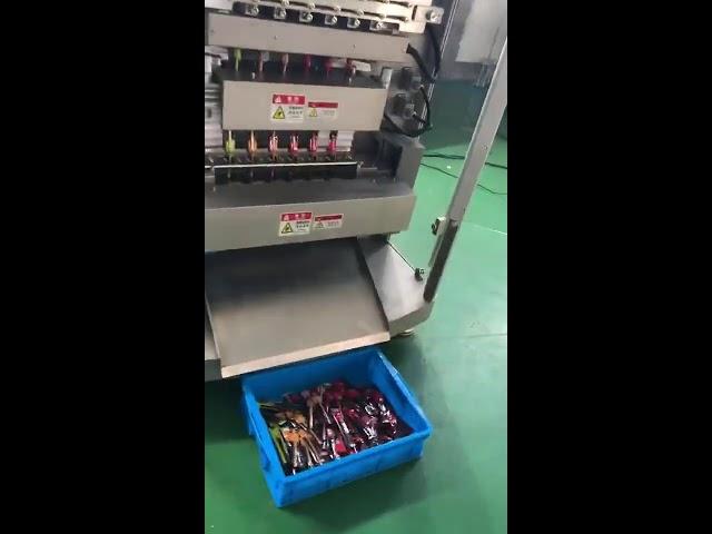 Top grade high end hvid sukker mælkepulver stok taske pakning multi line posen pakning maskine